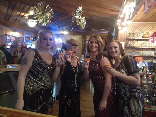 Roaring 20's halloween party