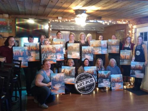 Traveling Art Pub Event