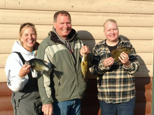 Winners of fishing contest